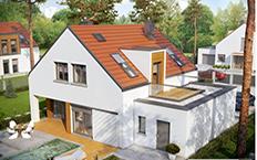 166m2 prefabrik villa