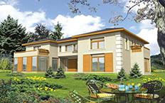 347m2 prefabrik villa